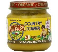 Mejor pollo & arroz cena (12 x 4 Oz) de la tierra