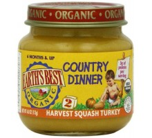 Earth's Best Harvest Squash Turkey Dinner (12x4 Oz)