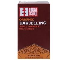 Equal Exchange negro, té Darjeeling (6 x 20 bolsa)