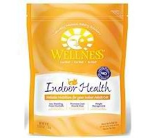 Wellness Indoor Hlth Dry Cat (6x40oz )