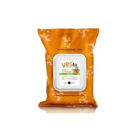 Yes To Baby Carrots,face/nose Wipes 30ct. (3x30 Ct)