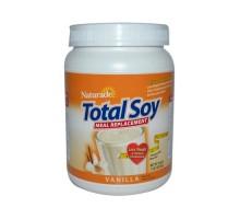 Naturade Total reemplazo de comidas de soya vainilla Oz 19,05