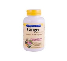 Nature's Answer Ginger Rhizome (60 Veg Capsules)