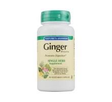 Nature's Answer Ginger Rhizome (90 Veg Capsules)