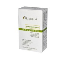 Olivella Fragrance Free Face And Body Bar 3.52 Oz