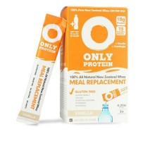 Only Protein Meal Replacement Whey Packets Vanilla (15 Count)