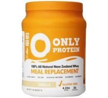 Sólo proteína comida reemplazo Whey vainilla (1x1.25lb)