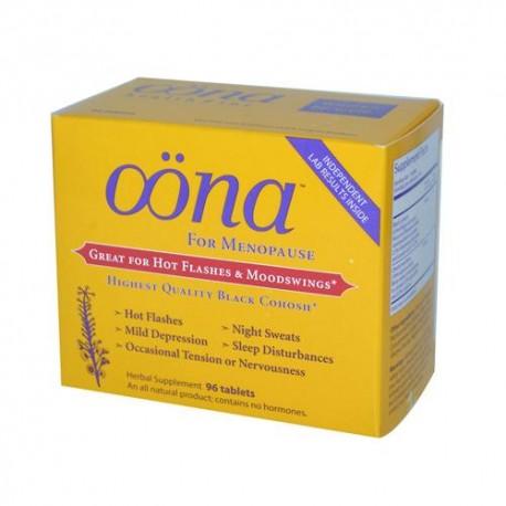 Oona Menopause Herbal Supplement 96 Tablets
