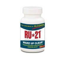 Suplemento de metabolismo del Alcohol de RU-21 (1 x 120 tabletas)