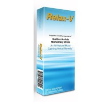 Sandj Nature Products Relax V Sudden Anxiety And Momentary Stress (20 Tablets)