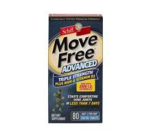 Schiff Move Free Advanced Triple fuerza Plus Msm y la vitamina D3 (80 comprimidos recubiertos)