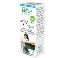 Sidda Flower Essences Attention And Focus Kids Age Two Plus 1 Fl Oz