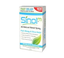 Sinol Sinol-m Homeopathic Allergy And Sinus Relief 15 Ml