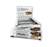 El simplemente proteína barra mantequilla de cacahuete y Chocolate (15x1.4 Oz)