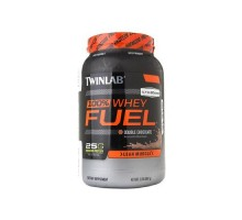 Twinlab 100% Whey Chocolate de combustible (1 x 2 Lb)