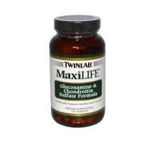 Twinlab Maxlife glucosamina y condroitina sulfato 120 tabletas