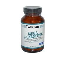 Twinlab Mega L-carnitina (500mg 60 Tabs)