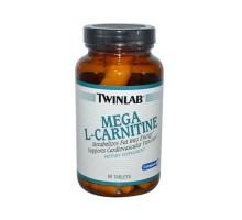 Twinlab Mega L-carnitina 500 Mg 90 tabletas