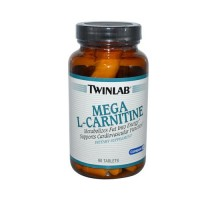 Twinlab Mega L-carnitine 500 Mg 90 Tablets