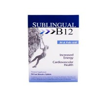 Heaven Sent Sublingual B12 With B6 And Folic Acid (1x30 Tablets)