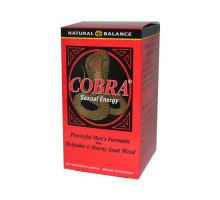 Natural Balance Cobra Sexual Energy (120 Veg Capsules)