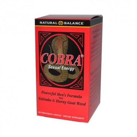 Natural Balance Cobra Sexual Energy (120 Veg Capsules)