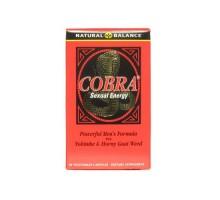 Equilibrio natural Cobra energía Sexual (60 Veg cápsulas)