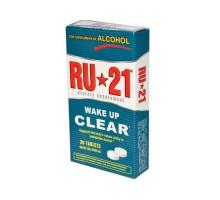 RU-21 Alcohol metabolismo suplemento 20 tabletas