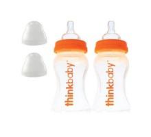 Cómo bebé de la botella con la etapa un pezón (0-6 meses) doble paquete de 9oz