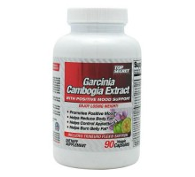 Nutrición secreta superior Garcinia Cambogia extracto con la ayuda de estado de ánimo positivo (90 Veg cápsulas)