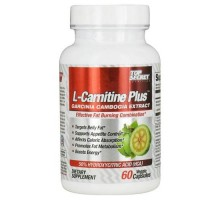 Top Secret Nutrition L Carnitine Plus Garcinia Cambogia Extract (60 Veg Capsules)