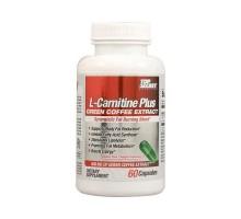 L-carnitina nutrición secreta superior Plus café verde extracto (60 cápsulas)