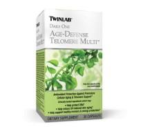 Edad de Twinlab defensa Telomere Multi (30 cápsulas)