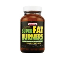 Action Labs Super Fat Burners Plus Bromelain (60 Capsules)