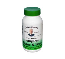 Dr. Christopher's Complete Tissue And Bone 440 Mg (100 Veg Capsules)