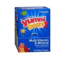 Hero Nutritional Products Yummy Bear Multivitamin And Mineral (1 X15/3 Count)