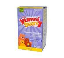 Hero Nutritionals Yummi osos osos Gummy Dha 90