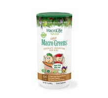 Macrolife Naturals Jr. Macro Coco-greens For Kids Chocolate 14 Oz