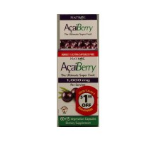 Natrol Acaiberry 1000 Mg (1x75 Veg Capsules)