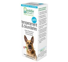 Sidda Flower Essences Temperment And Boundaries Pets 1 Fl Oz