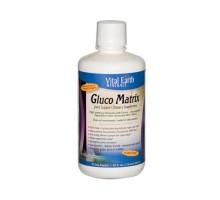 Vital Earth Minerals Gluco Matrix (32 Fl Oz)