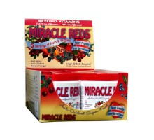 Macrolife Naturals Miracle Reds Antioxidant Super Food 6 Servings (6x 2 Oz Pack)