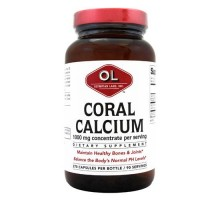 Olympian Labs Coral Calcium 1 G 270 Capsules