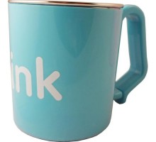Thinkbaby Cup Kids Bpa Free Blue (1x8 Oz)