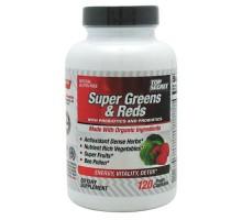 Nutrición secreta superior Super verdes y rojos (120 Veg cápsulas)
