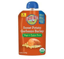 Earth's Best Baby Foods Sweet Potato, Garbanzo, Barley (12x3.5 Oz)
