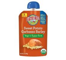 Mejor bebé alimentos camote, Garbanzo, cebada de la tierra (12x3.5 Oz)