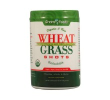 Pasto de trigo orgánico y materia prima de alimentos verdes tomas (1x10.6 Oz)