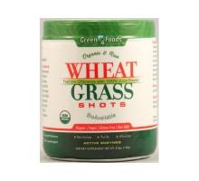 Pasto de trigo orgánico y materia prima de alimentos verdes tomas (1x5.3 Oz)