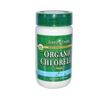 Alimentos verdes orgánica Clorella en polvo (1x2.1 Oz)